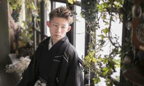 成人式の羽織袴撮影♪【東京・八王子・フォトスタジオ・写真館・成人式】